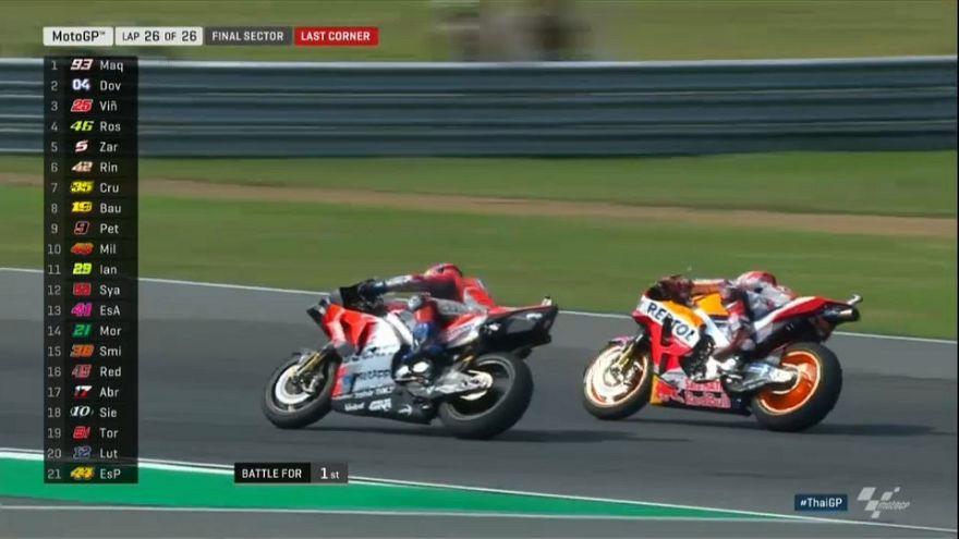MotoGP: páratlan izgalmak a Thaiföldi Nagydíjon