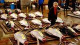 Dünyanın en büyük balık pazarı Tokyo'daki tarihi mekanına veda etti