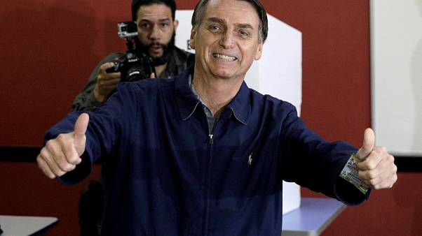 Voting polls close in Brazil's presidential race
