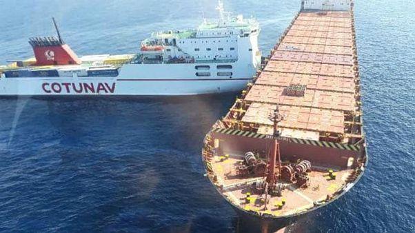 Τυνησιακό πλοίο εμβόλισε κυπριακό κοντά στην Κορσική