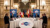 """Le """"G6 européen"""" s'ouvre à Lyon sur la question migratoire"""