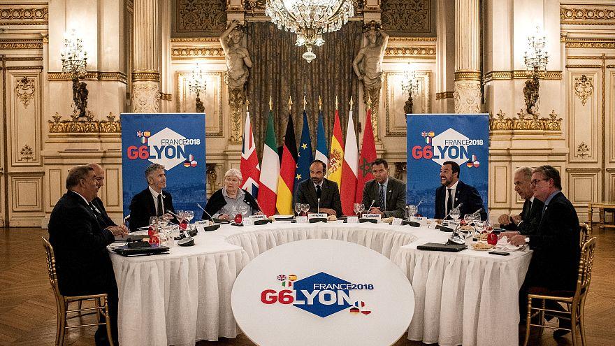 اجتماع وزراء داخلية الدول الست: ماتيو سالفيني يدعو ماكرون للكف عن إهانته