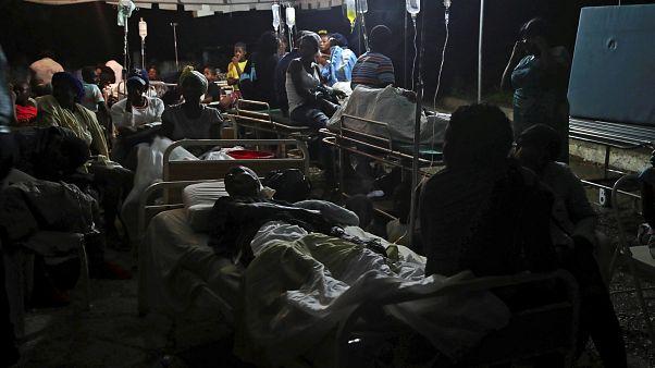 14 halottja van a haiti földrengésnek