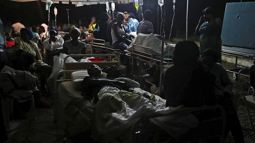 Mindestens 10 Tote bei Erdbeben auf Haiti