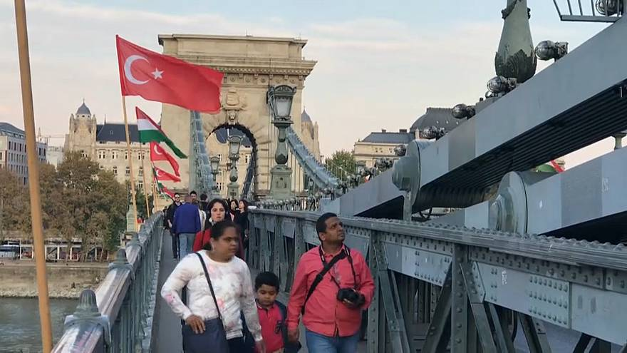 Erdogan in Budapest