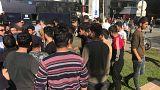 Grecia internará en campos a los migrantes acampados en Tesalónica