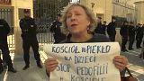 Pedofil papok ellen tüntettek Lengyelországban
