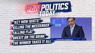 Raw Politics: blunt climate change warning, Bulgarian journalist murder and Brexit optimism
