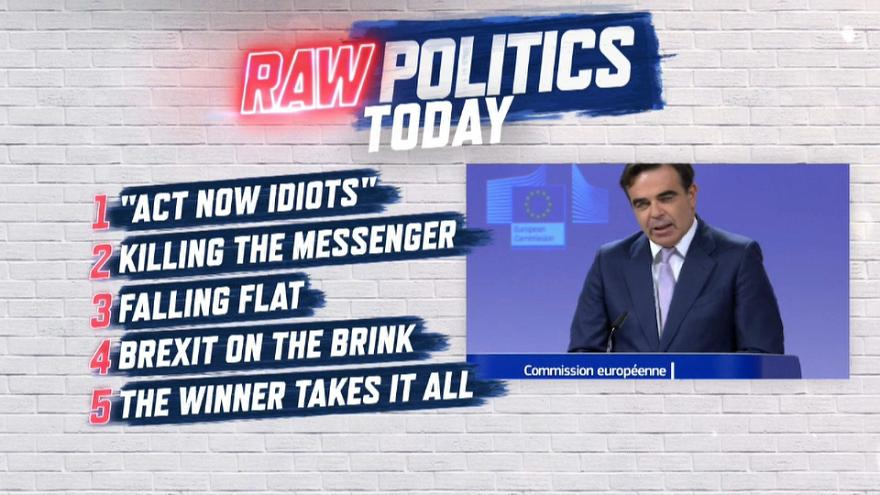 Raw Politics: blunt climate change warning, Bulgarian journalist murder and Brexit optimism