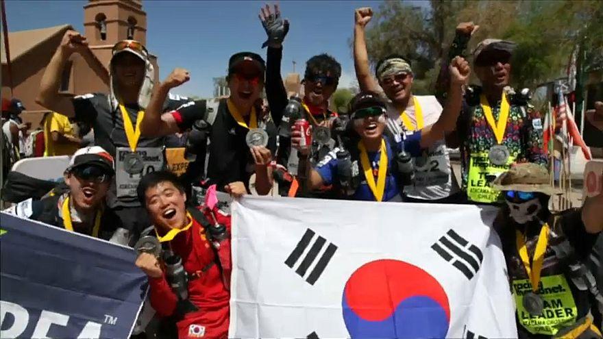 Los asiáticos triunfan en el Atacama Crossing