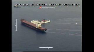 Πετρελαιοκηλίδα μετά τον εμβολισμό κυπριακού πλοίου
