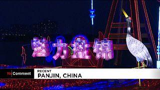 Fête des lanternes à Panjin