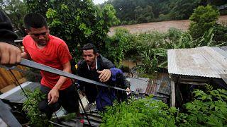 Las fuertes lluvias dejan al menos 6 muertos en Honduras