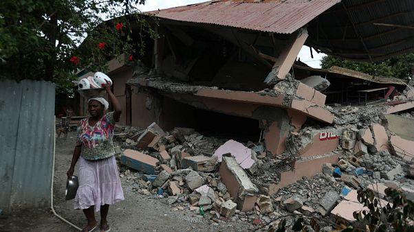 Haiti depreminde ölenlerin sayısı 15'e yükseldi