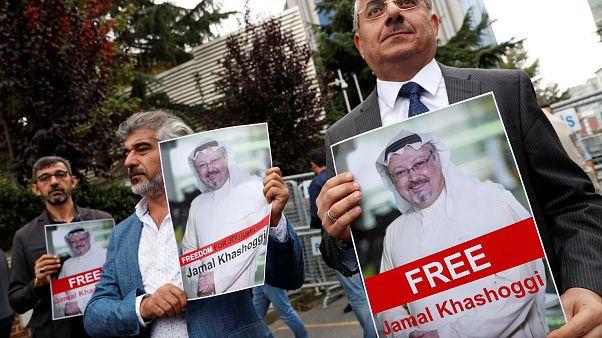 Jamal Khashoggi was last seen on October 2.