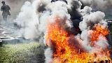 Ukrayna'da mühimmat deposunda patlama: Binlerce kişi tahliye edildi