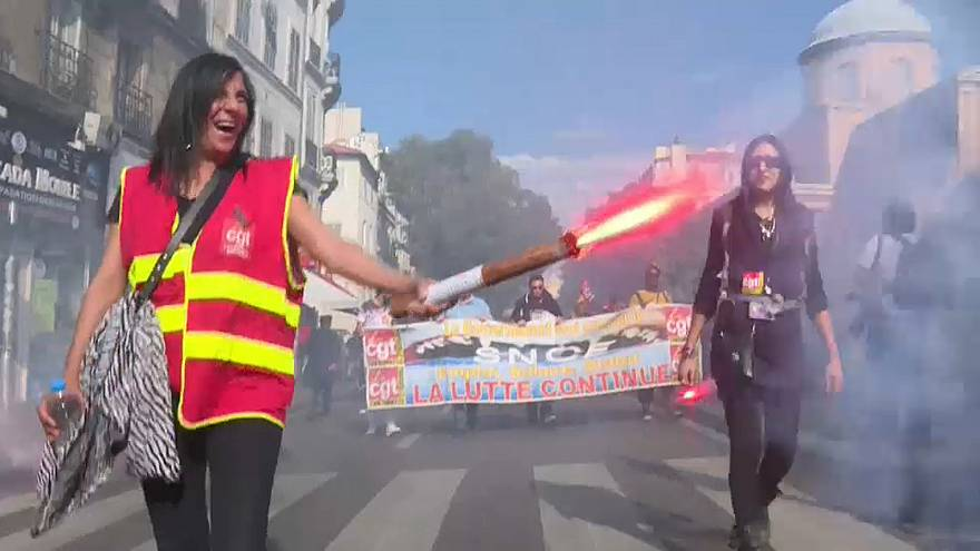 Première grande mobilisation sociale anti-Macron de la rentrée