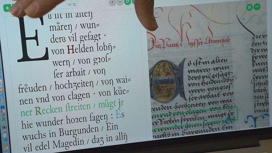 """""""ترانسكريبوس"""" نظام مبتكر ذكي ينسخ المخطوطات القديمة بسرعة ودقة فائقتين"""