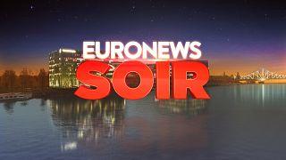 Euronews Soir, votre nouveau rendez-vous d'info quotidien