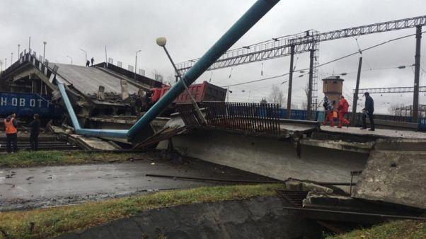Transsibirische Eisenbahn blockiert
