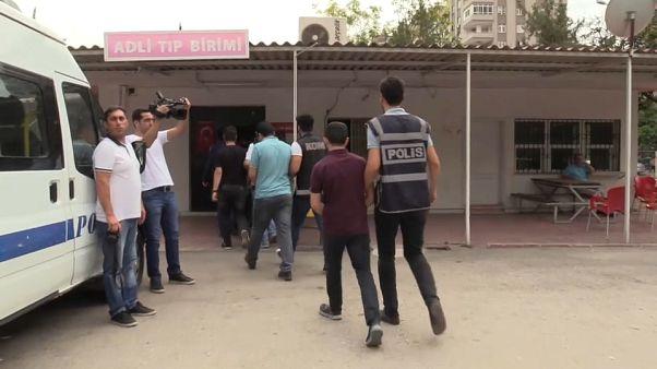 اعتقال عشرات المشتبهين بصلتهم بحزب العمال الكردستاني في تركيا