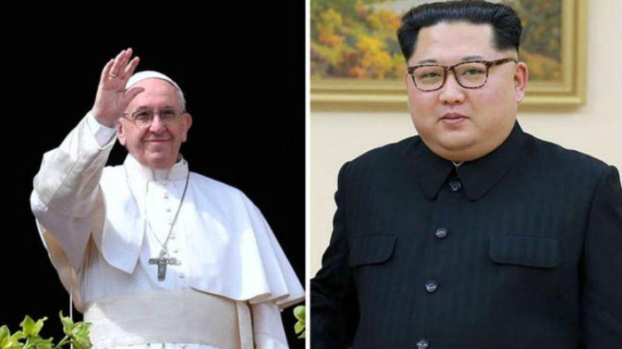 Kuzey Kore lideri Kim Jong-un Papa Francis'i ülkesine davet etti