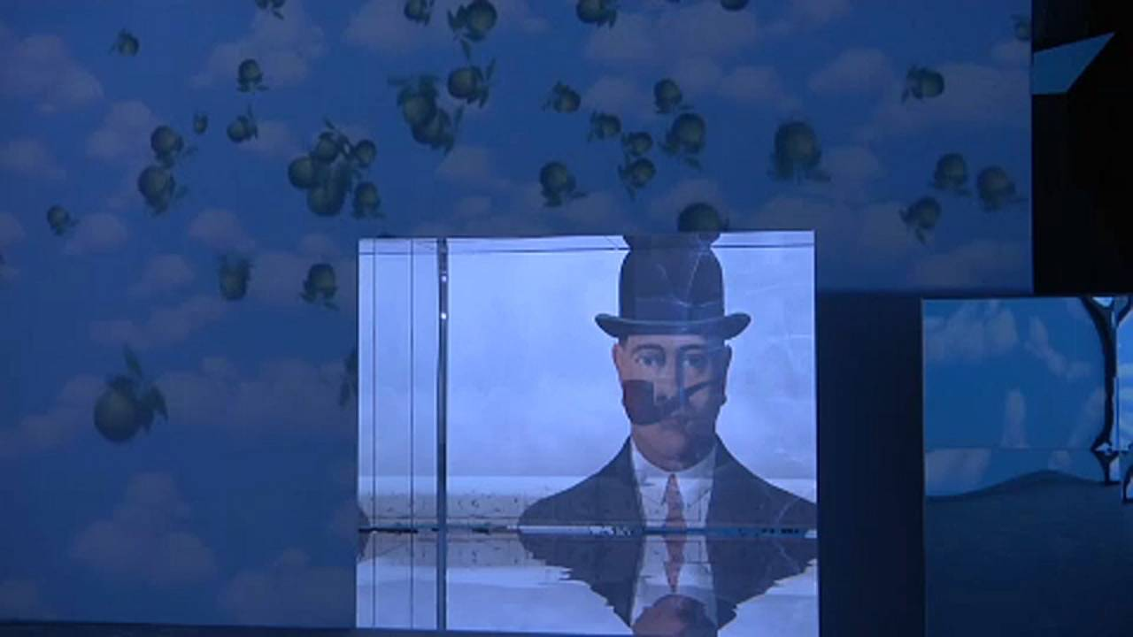 Milan: 'Inside Magritte' exhibition