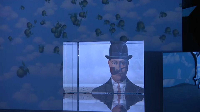 Milan Inside Magritte Exhibition