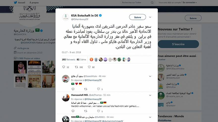 الخارجية السعودية: عودة السفير السعودي إلى برلين لمباشرة عمله