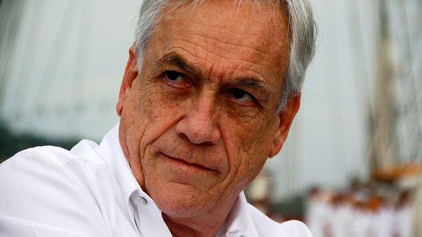 El presidente de Chile Sebastián Pinera