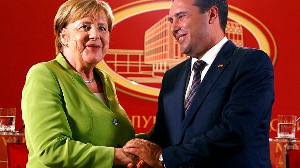 Μέρκελ: «Ιστορική ευκαιρία οι Πρέσπες»