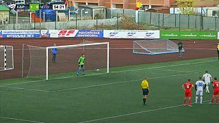 Watch: extraordinary backflip penalty in Russian student match