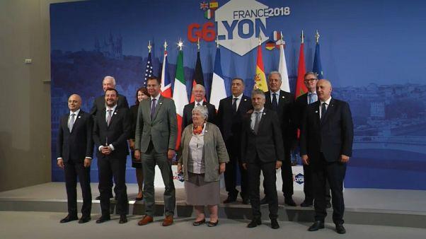 """G6 di Lione, Salvini: """"L'Europa ci ha ascoltato"""""""