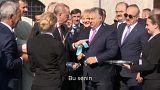 VİDEO - Erdoğan ile Orban arasında ilginç makas diyaloğu