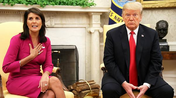 "Démission surprise de Nikki Haley, ""amie"" de Trump"