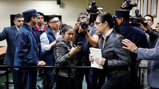 Más de 15 años de cárcel para la exvicepresidenta de Guatemala