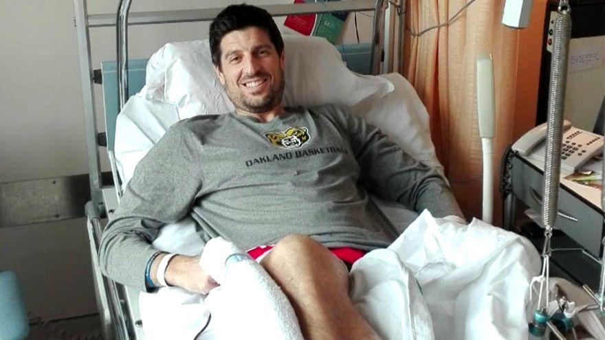 Brussels attack victim runs in marathon