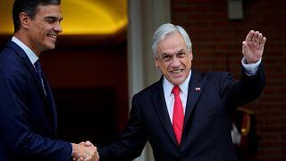 Sebastián Piñera matiza su apoyo a Bolsonaro
