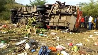 Tragique accident d'autocar au Kenya