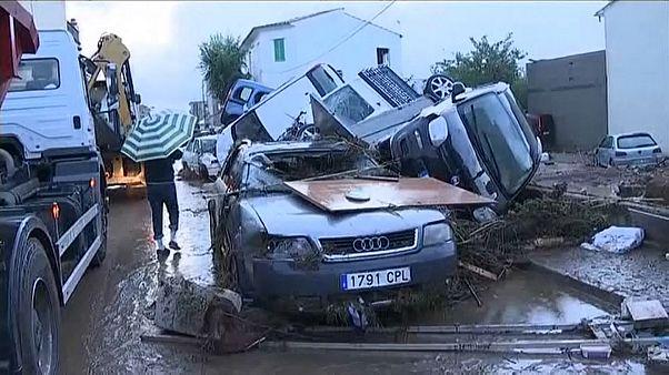 Se eleva a diez el número de muertos en Mallorca a causa de las fuertes lluvias