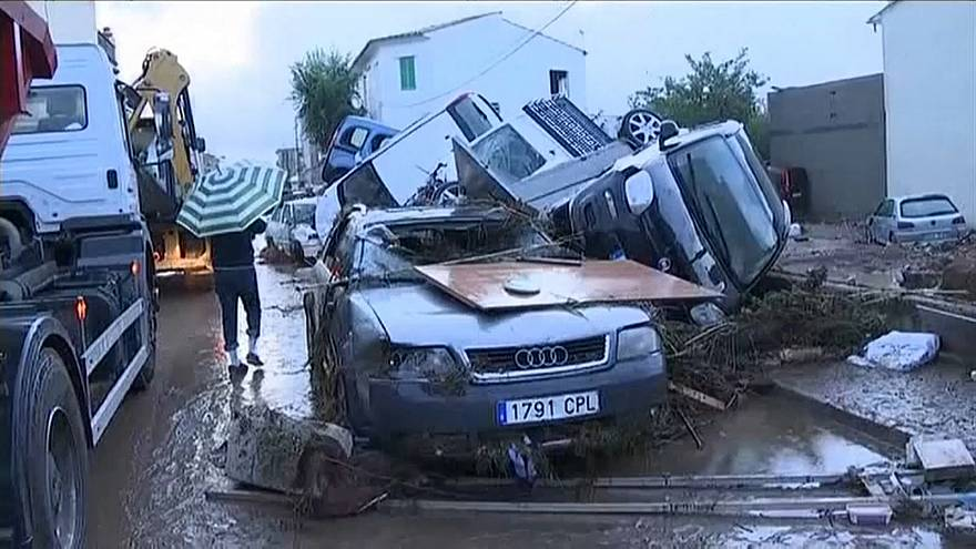 Inundações mortíferas em Maiorca