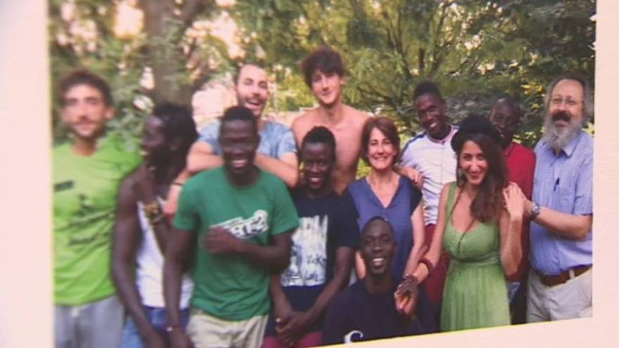 This Italian man opened his home to migrants
