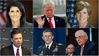 اخراج یا استعفای بیش از ۵۰ نفر در دوران ریاست جمهوری دونالد ترامپ
