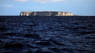 To νησί της Λαμπεντούζα