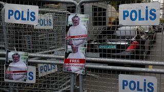 Divulgadas imagens relacionadas com desaparecimento de jornalista saudita