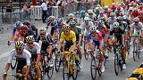 Roban a Geraint Thomas el trofeo de campeón del Tour