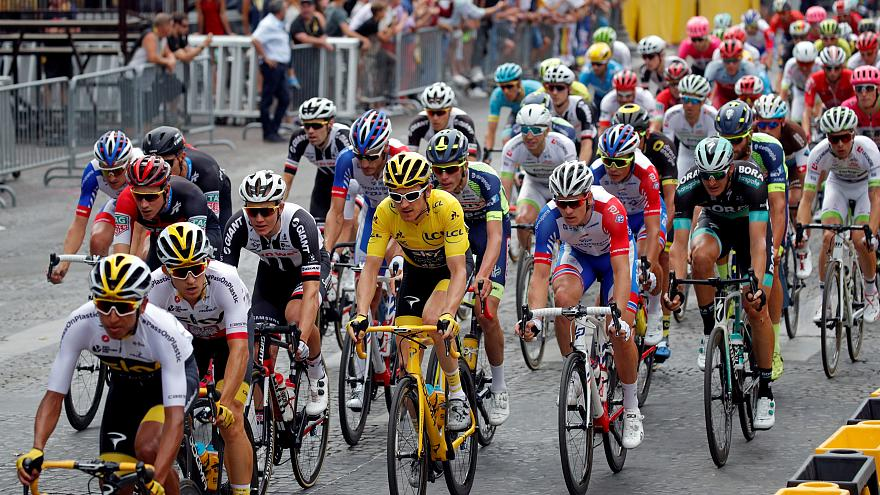 Кубок «Тур де Франс» похищен