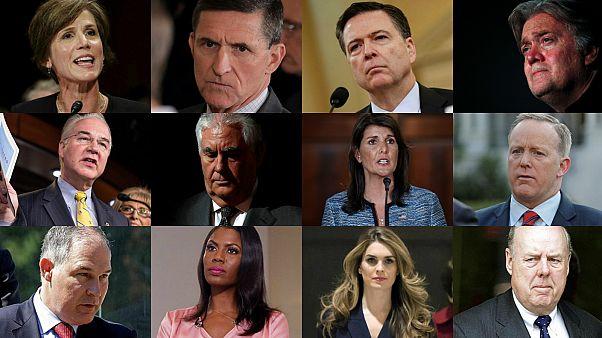 İstifa edenler, görevden alınanlar: Trump'ın çalkantılı ekibi