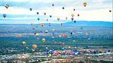Фестиваль воздушных шаров в Нью-Мексико
