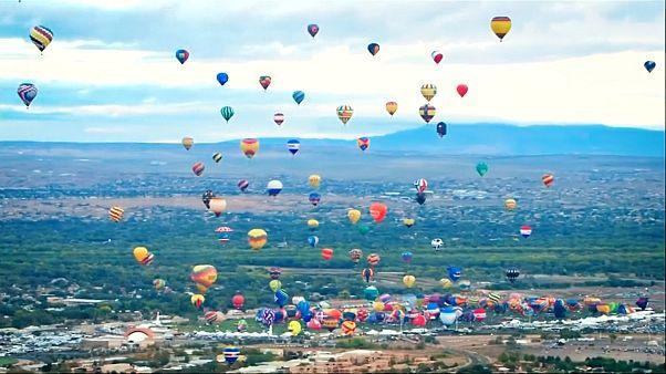 De drôles de créatures dans le ciel du Nouveau Mexique